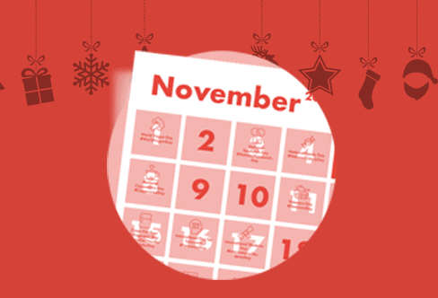 The Complete Social Media Holiday Calendar for November-December 2018.